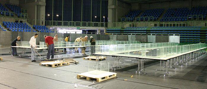 Préparation congres AFC 2009 - Villebon grand dôme