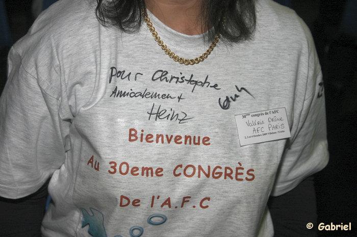 Congrès AFC 2009 à Villebon sur Yvette