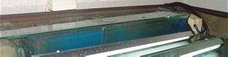 Filtre goutière du bac de 450 litres