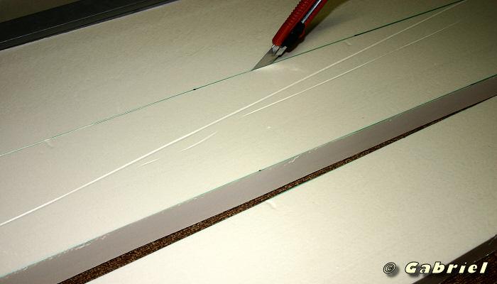 Réalisation d'un décor en polystyrène extrudé et ciment hydrofuge SIKATOP 121