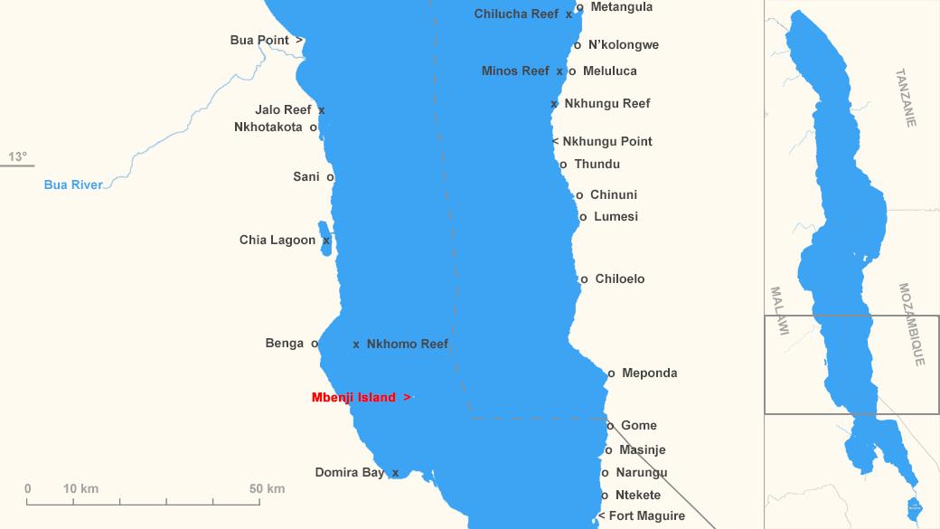 Localisation de Mbenji Island