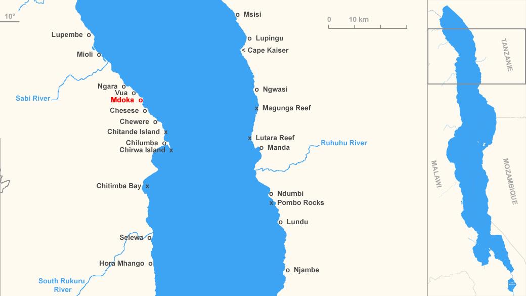 Localisation de Mdoka