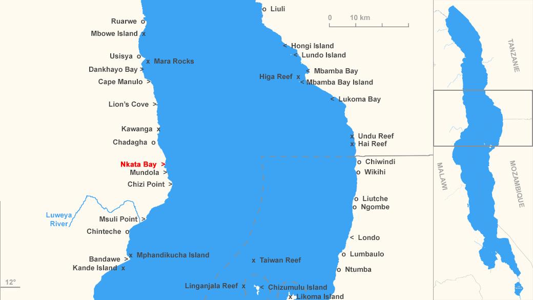 Localisation de Nkhata Bay