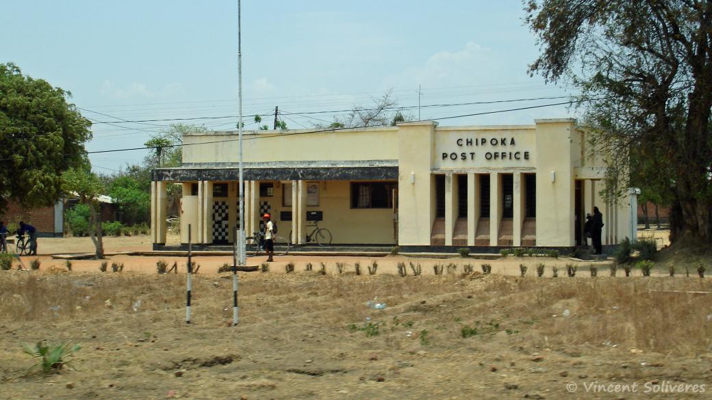 Bureau de poste de Chipoka, en 2005